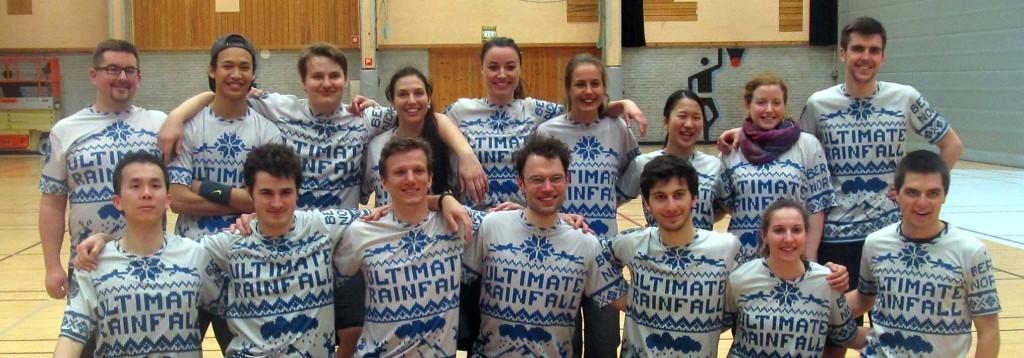 Ultimate Rainfall team photo 2015